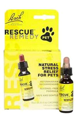 Rescue Remedy Dog Cat Pet Bird Stress Reliever Calm Separation Anxiety -