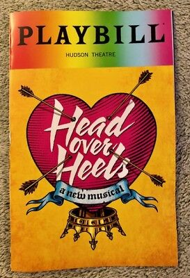 Head over Heels Pride Playbill - Broadway *First Show* *Brand New* Free Shipping
