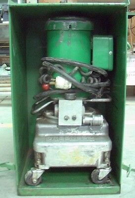 Greenlee 960 Hydraulic Power Pump For Use On Hydraulic Bending Groupsmetal Case
