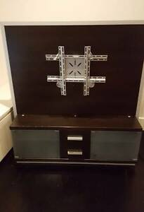 German designed TV stand, integrated bracket & cable management Northbridge Willoughby Area Preview