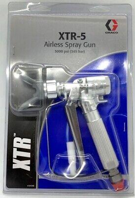 Graco Xtr 504 Xtr-5 Airless Spray Gun 4-finger Trigger Round Handle 5000 Psi