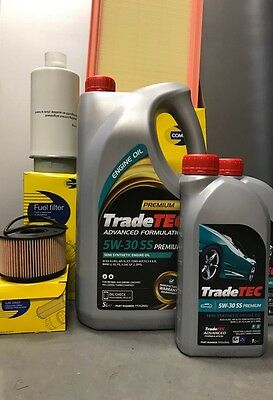 TRANSIT MK6 2.0 & 2.4 SERVICE KIT AIR & OIL& FUEL FILTER WITH 7L ENGINE OIL