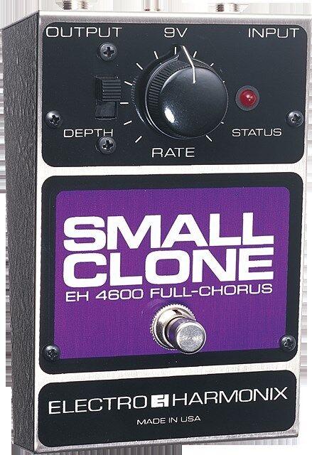 Electro Harmonix Small Clone Classic Analog Chorus Guitar Pedal w/ Battery EHX