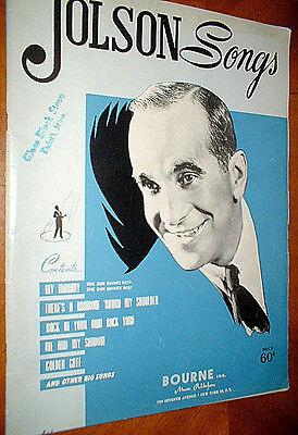 JOLSON SONGS  12 songs  1947