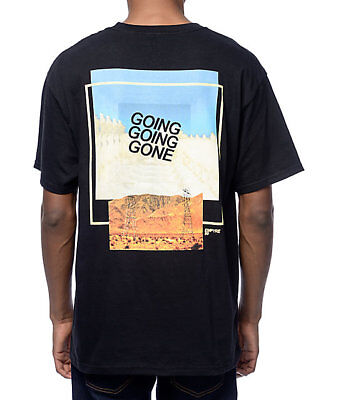 Empyre Going Going Gone Desert Black T-Shirt Tee Front Back Print Exclusive New - Exclusive Black T-shirt