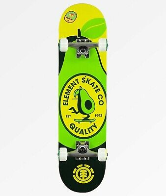 U R What You Eat Element Skateboard Avocado Discontinued New complete