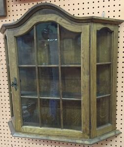 Beautiful Oak Curio Cabinet