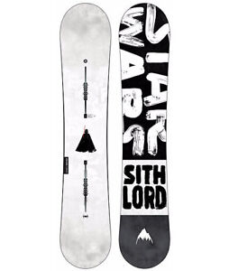 Burton x Star Wars dark side sith Lord 154cm snowboard