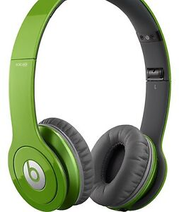 Green Beats Solo HD by Dre