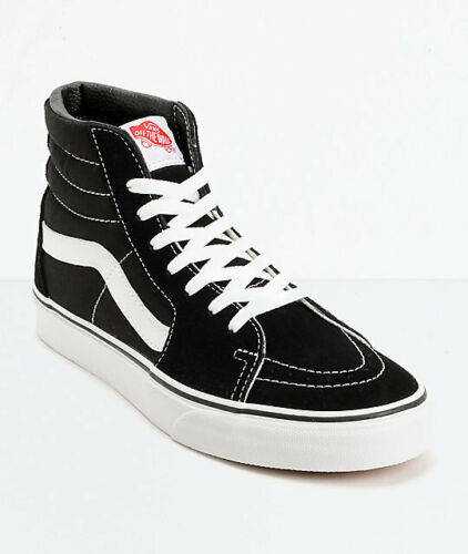 vans SK8-HI BLACK WHITE US UNISEX SIZES MEN