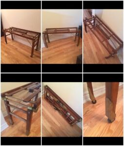 "Antique Washtub Stand - Folding Legs - ""Beatty"""
