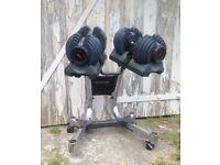 Bowflex 2-21Kg Adjustable Dumbbells with Stand
