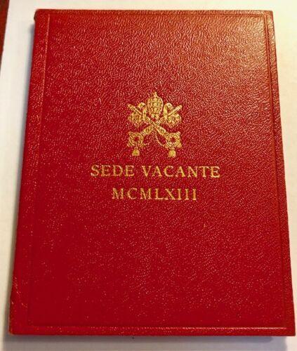 VATICAN - Sede Vacante - 500 Lire - 1963 - Br. Uncirculated Silver Coin in OGP
