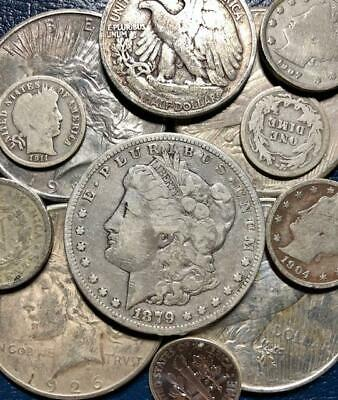 Silver Gift Bag (US Coin Grab Bag ~ Great Gift ~ Silver & Proof Coins & More ~ Best deal on)