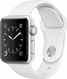 2 Apple Watch left - 400 - Nike Plus White/Platinum and Silver