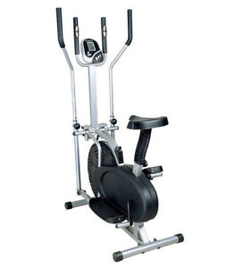 EXERCISE-BIKE-ELLIPTICAL-CROSS-TRAINER-2IN1-CARDIO-FITNESS-WORKOUT-MACHINE