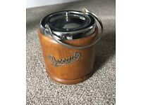 Biscuit Barrel: wood outer (Retro) : Best offer so far £1