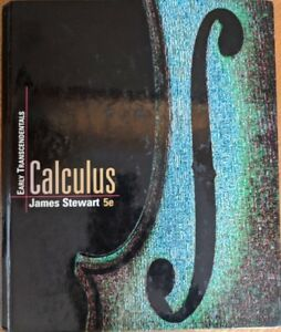 Calculus Early Transcendentials James Stewart 5th Edition