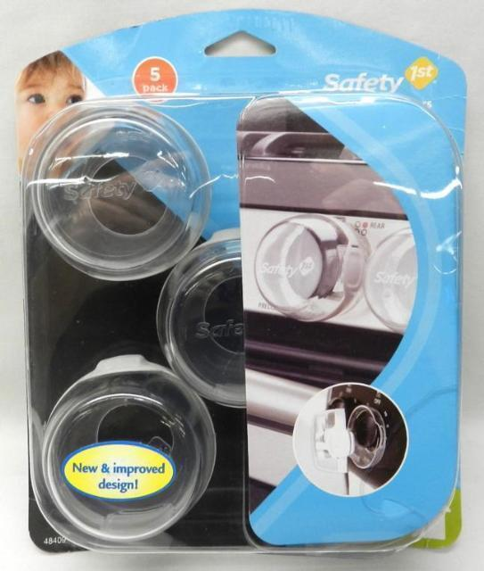 Safety 1st Clear Stove Knob Covers 5 pack - 48409 - Toddler Must Have!