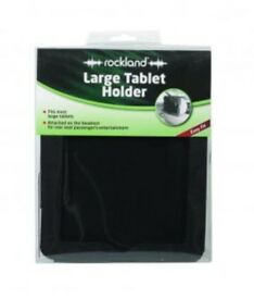 Rockland Tablet holder (Large) : attaches to headrest : Brand new and unopened