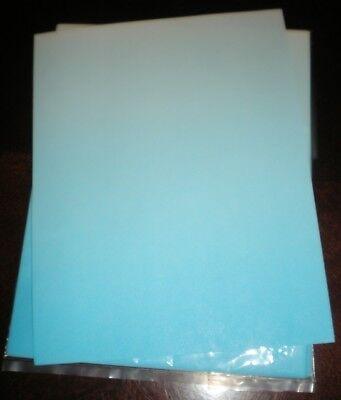 Novelty Fun Letterhead Blue Gradient Colors 25 Sheets