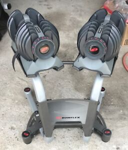 Bowflex Selecttech Weights and Stand