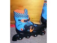 inline skates size 13- 3 adjustable