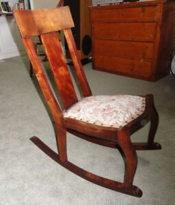 Antique Nursing Rocker MINT