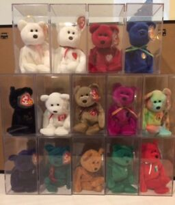 BEANIE BABIES ALL WITH TAGS AND FROM THE 90's ONLY 5 LEFT