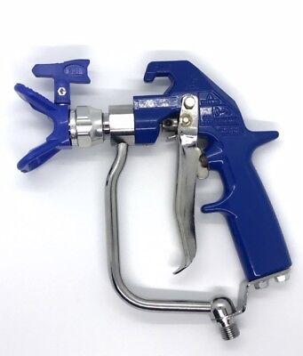 Graco Hd Texture Airless 4-finger Spray Gun 241705 241 705 Blue - Tip Guard