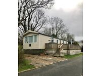 Pre Owned 2009 Swift Burgundy Static Caravan on LUXURY HOLIDAY PARK, Red Wharf bay, Anglesey
