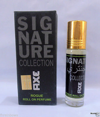 Axe Signature Collection Rogue 8ml Non-Alcohol Attar Oil Jumma Mubarak Ramzan