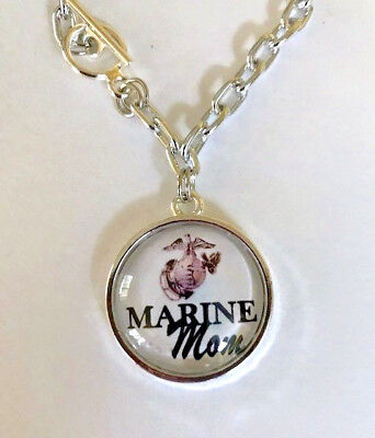 Marine Mom Charm Bracelet ](Mom Charm Bracelet)