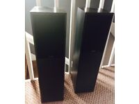 Gale floor standing speakers - model 4i, good general condition, sound great