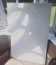 White Granite Worktop Pieces
