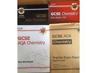 CGP, GCSE Chemistry 4 packs