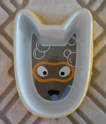 DonDon Dog Water Ceramic Bowl New
