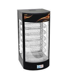 New Electric Pizza slice Hut Warming Cabinet Showcase Display