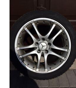 Mercedes Replica Rims and Winter Tires