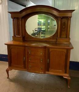 Solid Maple Antique Sideboard/ Buffet