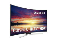 49''CURVED SAMSUNG SMART 4K ULTRA HD LED TV HDR.2017 MODEL UE49KU6670. FREESAT HD. FREE DELIVERY