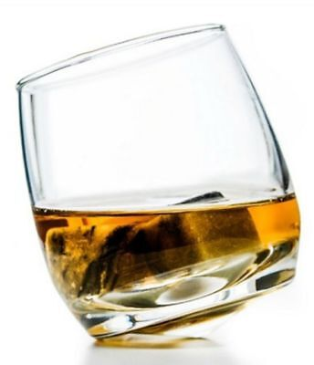 Set 6 bicchieri Sagaform 5015280 in vetro per whisky oscillanti 20 cl