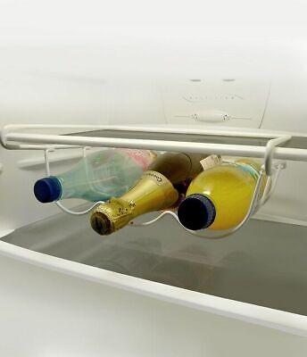 Universal Nevera Congelador bajo Estante Botella + Vino Soporte Ahorro de