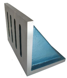 Angle Plate Webbed End 3 x 2.5 x 2 inch Ground