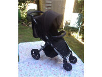 Britax B Motion 4 Pushchair/Buggy with Carrycot, Foot Muff & Extras