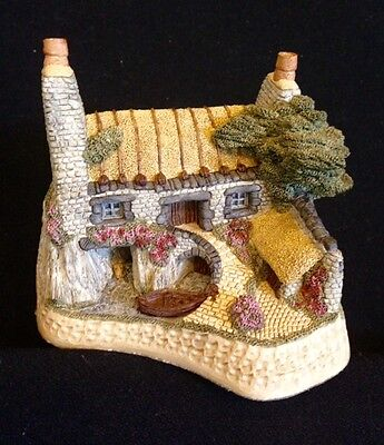 David Winter ~ HOUSE ON THE LOCH ~ MIB ~ COA ~ PERFECT ~ AMAZING DETAIL ~ 1988