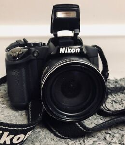 Nikon Black CoolPix P510 EOS Rebel DSLR Camera