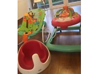 Mamas and papas snug floor seat chair - bouncer walker swing