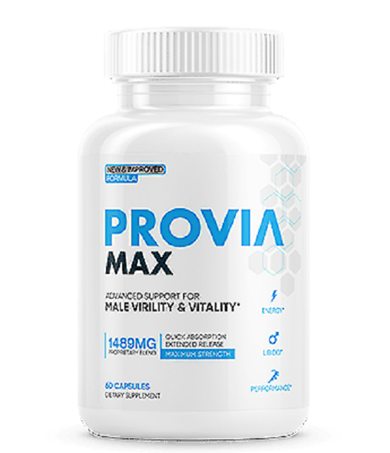 Provia Max Male Virility and Vitality Support