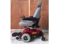 Pride Jazzy Power chair electric wheelchair mobility scooter